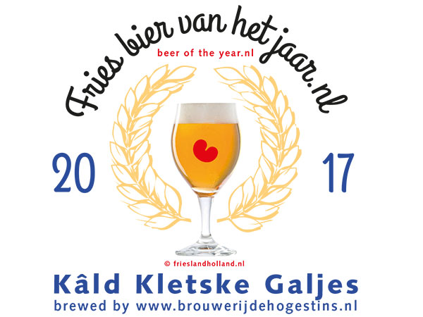 Fries bier van het jaar. © Albert Hendriks Friesland Holland Nieuwsdienst.