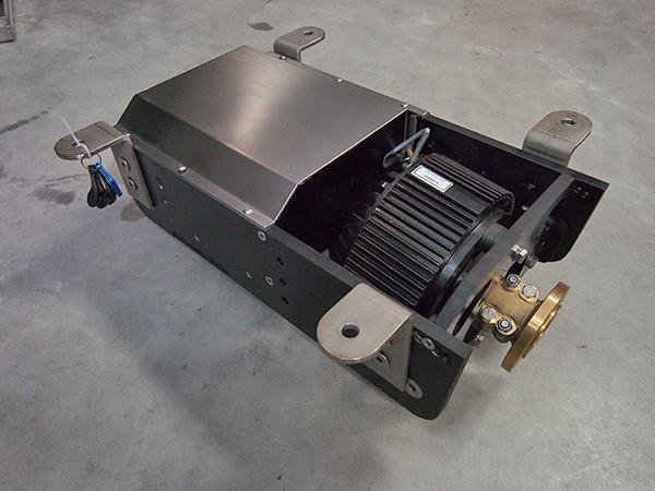 Compact, krachtig en slim motorblok met geïntegreerde regelaar: 'Intelligent E-boat Power Pack' van Water World Electronics.