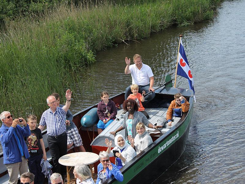 Kaasmaker Jacob Nauta van De Wartenster.