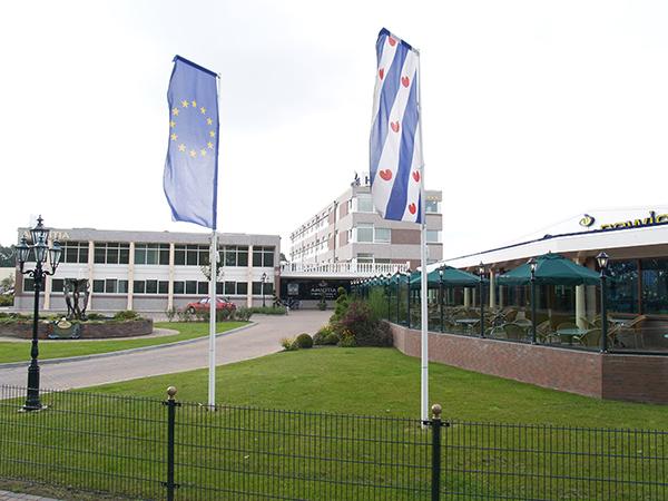 Viersterren Hotel Amicitia in Sneek.