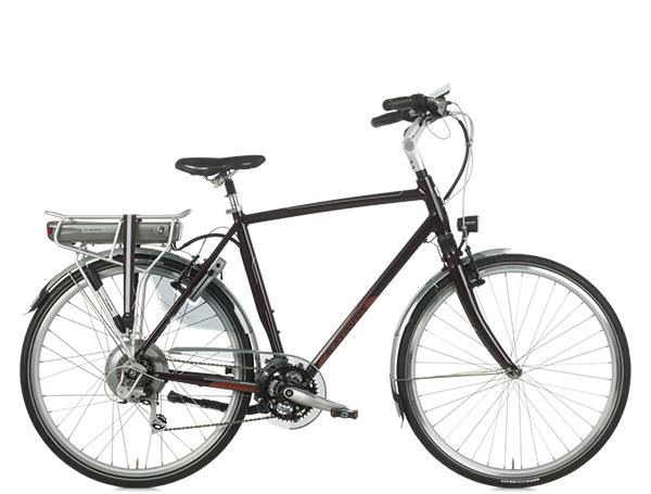 De Batavus Ventoux Easy® is een chique en sportief gelijnde lichtgewicht, die het beste van een stadsfiets en een toerfiets verenigt. De aandrijving op het achterwiel zorgt voor betrouwbare rijeigenschappen en met de unieke geometrie van Batavus vindt elk postuur een comfortabele zitpositie. Met 21 versnellingen en hoge actieradius is deze elektrische fiets ook uitermate geschikt voor langere afstanden.