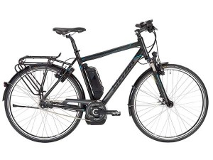 Volgens de Duitse verkeersclub ADAC is dit de beste e-bike: de Stevens E-Courier SX van Stevens Bikes in Hamburg. De bond testte geen Nederlandse topmerken als Batavus, Koga, Sparta of Gazelle die in het verhuurprogramma van Rent a Topbike van Friesland Holland zitten.