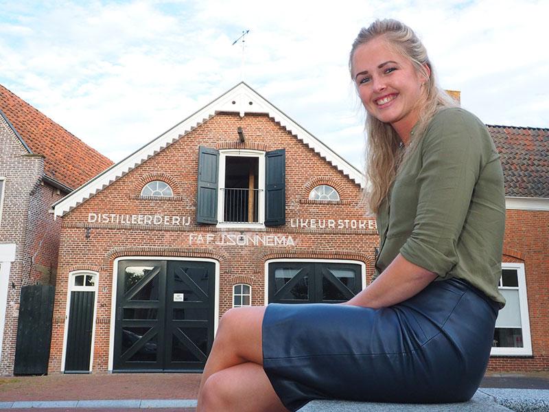 Jojanneke Dijkstra biedt haar gasten top onderdak en unieke beleving van Dokkum