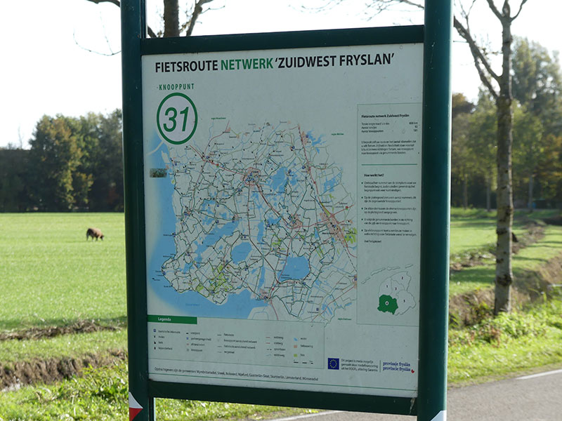 Zuidwest-Friesland is een van Nederlands populairste vaar- en fietsregio's.© Albert Hendriks Friesland Holland Nieuwsdienst