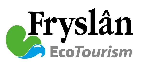 Logo Fryslân Eco Tourism: Friesland Holland zet zwaar in op de bevordering van het ecotoerisme langs de Friese Waddenzeekust en in de Friese Wouden. Country Wellness, kuren in de natuur en genieten van baden en massages met regionale producten, is een onderdeel van dat promotieprogramma.
