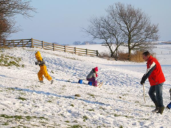 Wintersportparadijs Friesland, in Nederland!