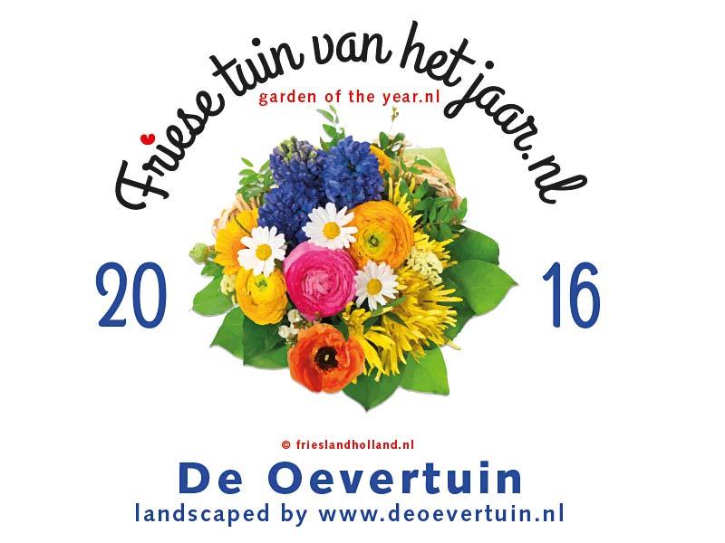 Friese Tuin Van Het Jaar