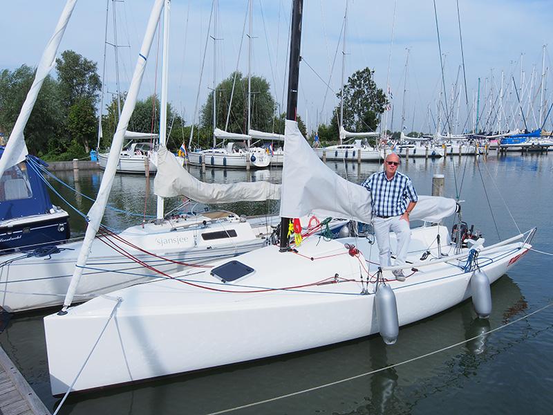 Jan en Trees Zetzema verhuren joekels van zeiljachten, Dehlers en X-Yachts, maar ook J/Boats, dagzeilers.