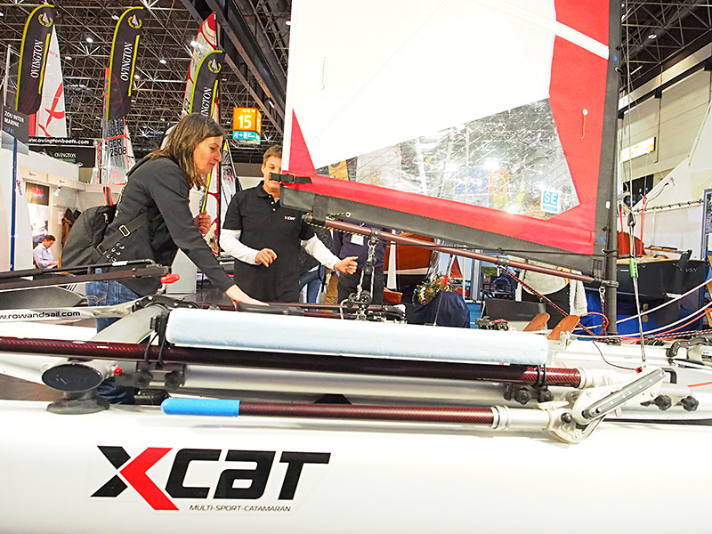 Jochem Bierma, een in Oostenrijk uitvindende en ondernemende Fries, introduceert nog deze zomer zijn multi-sport-catamaran in Friesland onder de naam X-cat. Friesland Holland Travel, de reisorganisatie van het bureau voor toerisme van Fryslân, gaat de multi-sport-catamaran inzetten voor haar nieuwe label Multi Activity Holidays.