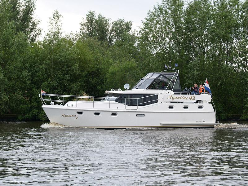 Stalen motorjachten, made in Fryslân.