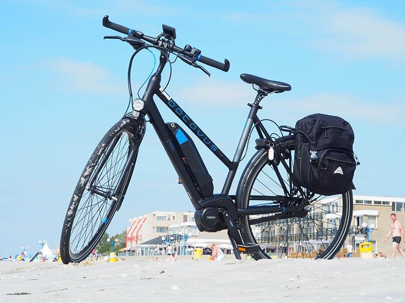 De verscheidenheid in e-bikes is groot op de Holland E-bike Show in Home Center.