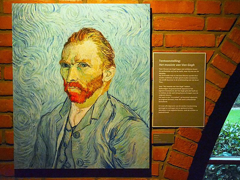 Van Gogh in optima forma in het Karmelklooster in Drachten. Fotografie: Albert Hendriks-Friesland Holland Nieuwsdienst.