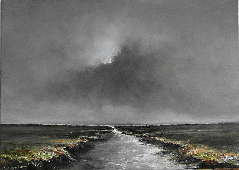 Werk van Jan Mostert. Info: www.janmostertlandschappen.nl