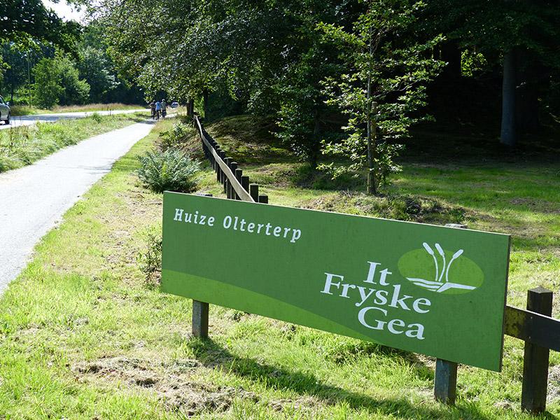 Beetsterzwaag hield zaterdag 29 augustus 2015 een open landgoeddag. Huize Olterterp, het kantoor van de Friese natuurbeschermingsorganisatie It Fryske Gea, was tot veler verbazing potdicht. Fotografie: Friesland Holland News.