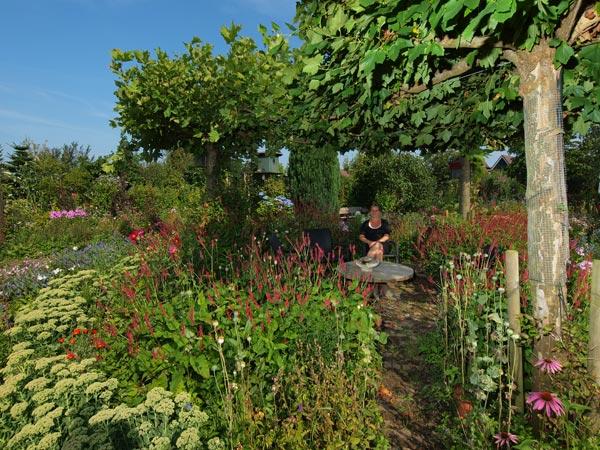 Een tocht over het Friese platteland is een tocht van verrassing naar verrassing. Fietsend door Hemelum aan het De Morre (Morra) in Gaasterland komt u een piepklein winkeltje tegen met plantenstekken met de toepasselijke naam 'De Stekkenplek'. Achter het nostalgische winkeltje, dat ook Friese streekproducten verkoopt, bevindt zich een grote tuin met honderden bloemen en planten. U kunt in deze fleurige en natuurlijke oase genieten van koffie, thee en boerenijs.