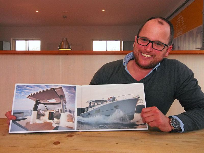 Jurre Jan Muurling start met de verhuur van Delphia Escape motorjachten in Makkum aan het IJsselmeer.