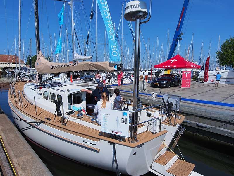 Ook een product van KM Yachtbuilders, de Bestewind 50.