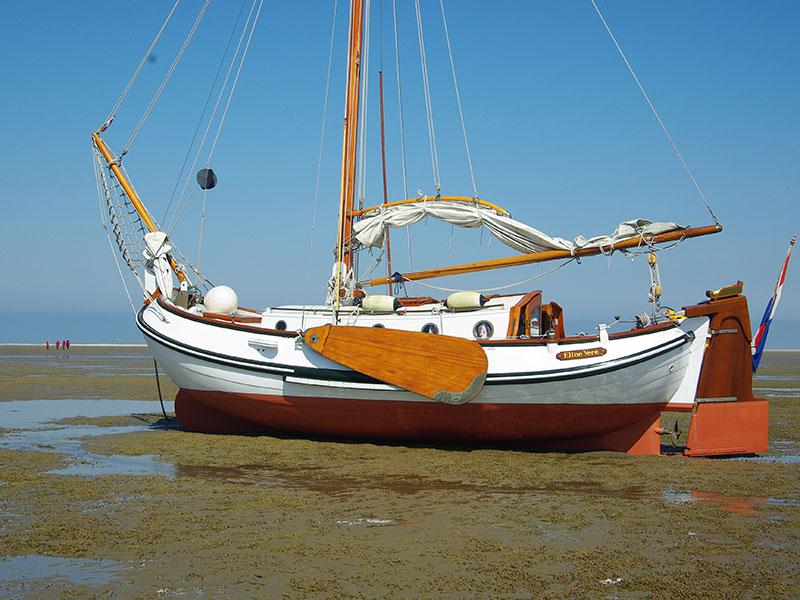 """Heech by de Mar is vooral een zeilbedrijf met een dertigtal rond- en platbodems in de verhuur. De onderneming organiseert ieder jaar instructietochten, zoals Waddenflottieljetochten onder leiding van ervaren platbodeminstructeurs. De eerste Wadvaartocht is van 15 tot en met 22 april 2016. Als u interesse heeft zo'n Waddentocht mee te maken dan kan Heech by de Mar u het onderstaande aanbieden: U boekt een kooi op een van de schepen met een ervaren schipper van Heech by de Mar. De kooiprijs voor een week op het vlaggenschip """"Hendrickje Stoffels"""" (een 13.00 mtr. Lemsteraak) en de """"Ronde Walvis"""" (een 14.50 mtr. Lemsteraak) bedraagt € 650,-. Voor een van de andere schepen met schipper bedraagt de kooiprijs per week € 600,-. De kosten voor de schipper zijn bij de prijs inbegrepen. Kosten voor eten, havengelden, dieselverbruik, enz. vallen hier niet onder en dienen door de opvarenden te worden opgebracht. Een andere mogelijkheid is dat men met vrienden of familie één van de platbodemschepen vanaf 8,50 mtr. huurt voor op de prijslijst genoemde huurprijs + € 75,- per opvarende. U kunt zich dan met het schip bij de groep aansluiten. Het is een gecombineerde tocht voor Nederlands, Duits en Engels sprekenden met Nederlands, Duits en Engels sprekende instructeurs. Heech by de Mar brengt de gelijktaligen zoveel mogelijk bijeen op hetzelfde schip met schipper-instructeur. Meer info: www.heechbydemar.nl"""