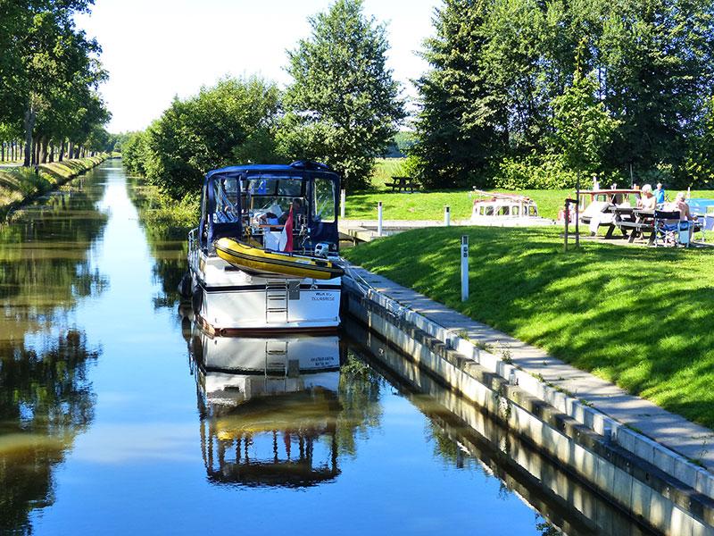 De nieuwe haven van Oldeberkoop. Fotografie: Jana Hendriks, Friesland Holland Nieuwsdienst.