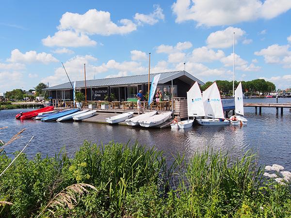 Zeilcentrum Grou wil het meest toegankelijke zeilcentrum van Nederland zijn, dus ook voor beginnende zeilers met een handicap.