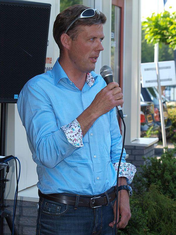 Jan IJben is als eventsmanager de kapitein van Ottenhome Heeg Events.