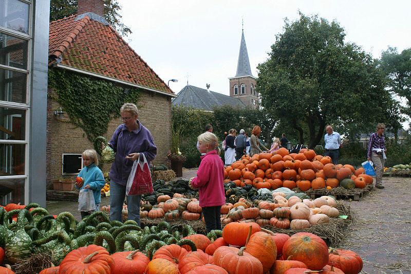 Een sfeervolle en bijzondere najaarsmarkt treft u aan tijdens het jaarlijkse Pompoenfestival in Jellum.