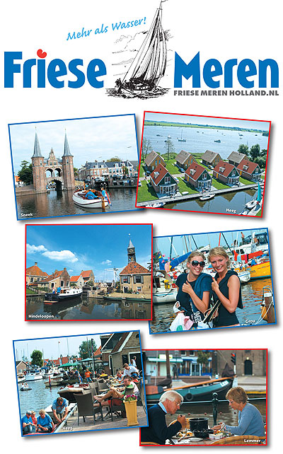 De Friese Meren standwand