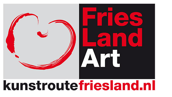 Logo Kunstroute Friesland.