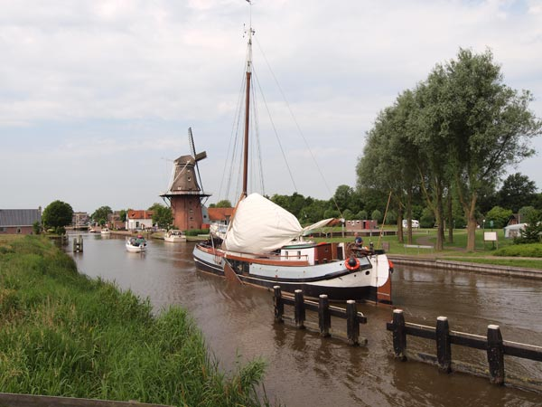 Markant Friesland Cruise: Burdaard.