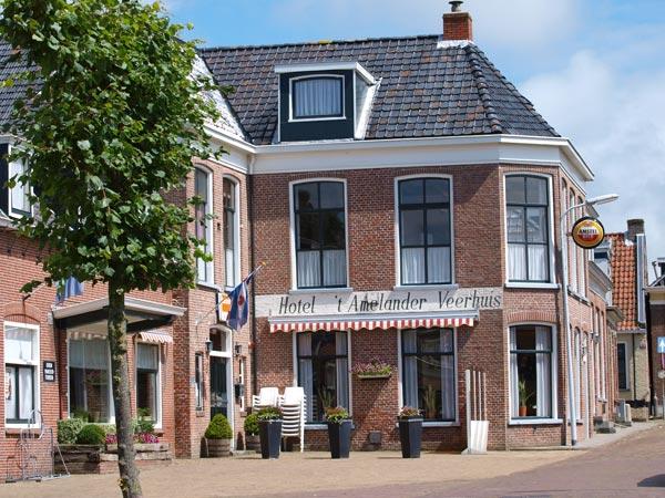 Het Amelander Veerhuis is het eerste 'Fietsers Welkom' adres in Friesland.