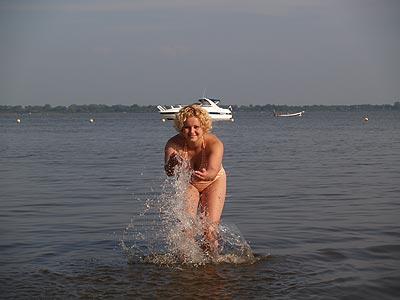 Friesland, het grootste buitenbad van Nederland.