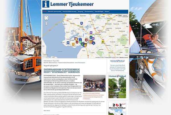 Schermafdruk van de site van Lemmer.