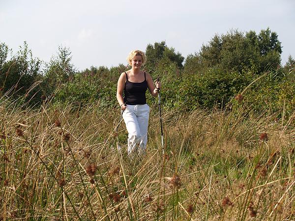 Struinen in Nationaal Park 'De Alde Feanen'.