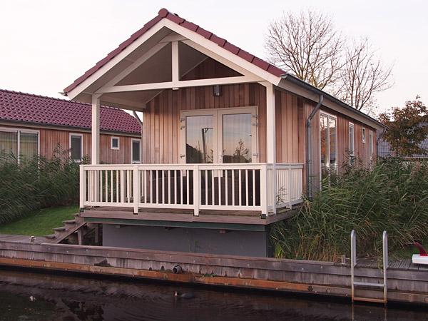 Klein maar fijn, een chalet op recreatiepark Tusken de Marren.