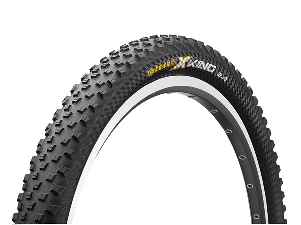 De winnende MTB-band, de Continental XKing Protection.