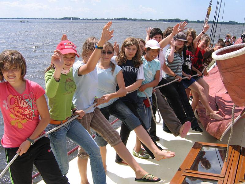 Jongeren houden van schoolreizen met veel afwisseling. Friesland biedt dat.