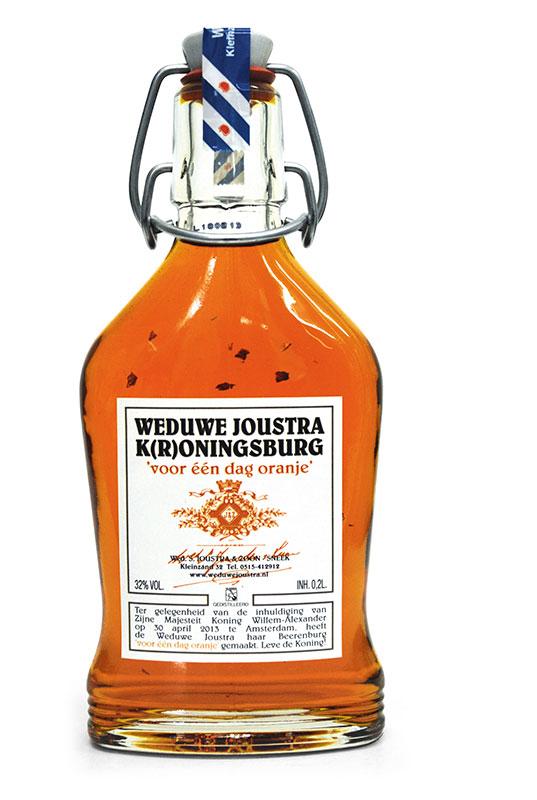 De K(r)oningsburg van Weduwe Joustra uit Sneek is onderweg naar Den Haag.