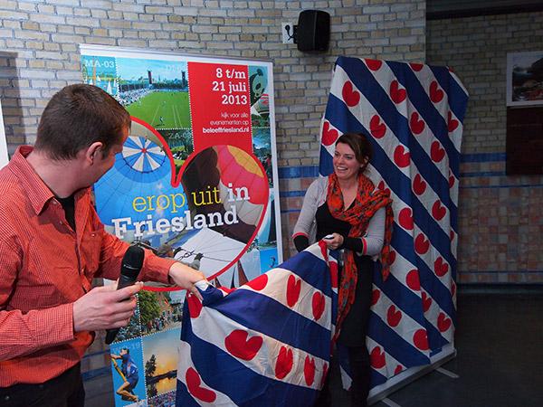 Toerismegedeputeerde Jannewietske de Vries startte 28 maart 2013 in het Wouda stoomgemaal in Lemmer een nieuwe campagne van Beleef Friesland op. Het onafhankelijke bureau voor toerisme Friesland Holland participeert daar ook in.