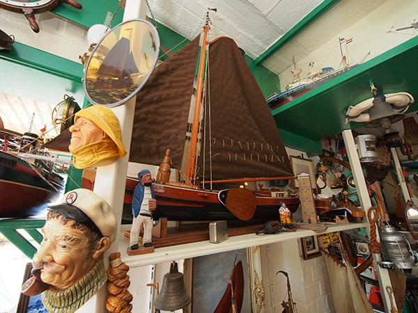 Een impressie van het Langweerder scheepvaartmuseum 't Boatsje.