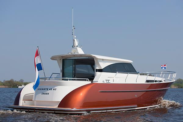Friesland telt jachtbouwers met lef, zoals Vivante Yachts op bedrijventerrein 't Ges in Sneek. Info: http://www.vivante-yachts.nl/