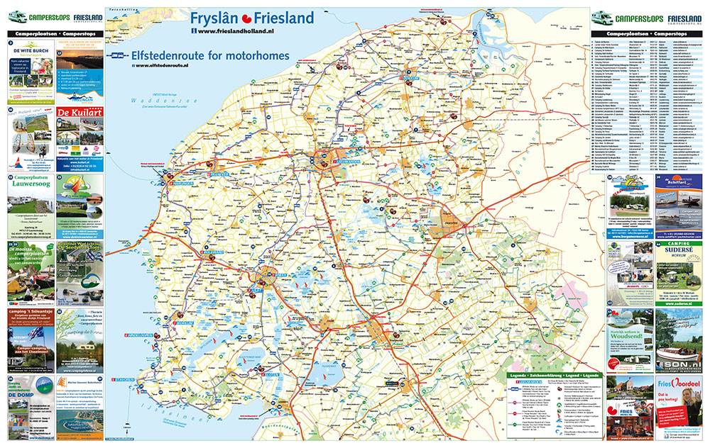 Obelink heeft een primeur met Camperstops Friesland, een nieuw product op het gebied van kampeerautovakanties van het bureau voor toerisme Friesland. Info: www.camperstops.nl