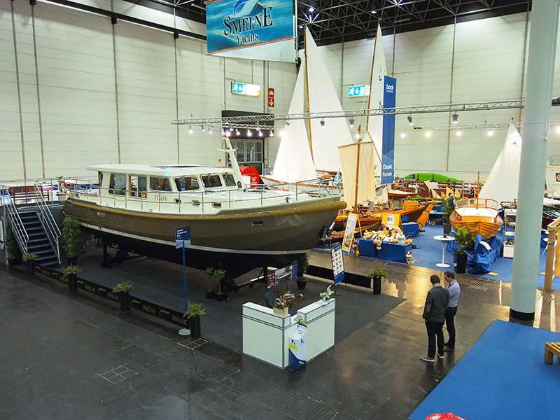 Nog een bekend Fries merk op Boot Düsseldorf: Smelne van Wiepke Veenje uit Drachten. Info: http://smelne.nl/