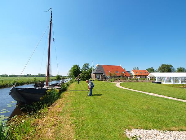 De Turfhoeke in Gorredijk, een vijf sterren groeps- en vergaderaccommodatie aan de Turfroute.