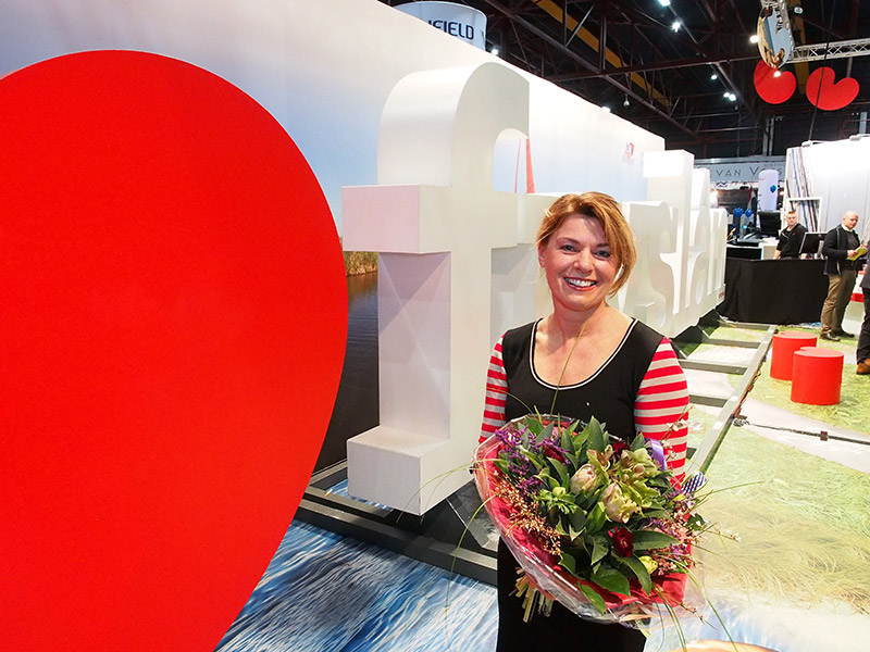 PvdA gedeputeerde Jannewietske de Vries, de vrouw van Fryslân.