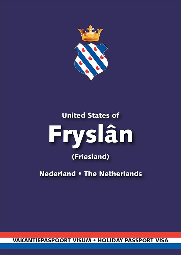 Het Fries vakantiepaspoort is een informatieboekje over Friesland dat in vijf talen is gesteld: Fries, Nederlands, Duits, Engels en Frans. Meer info: http://www.friespaspoort.nl/