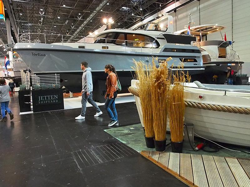 Jetten Shipyard pakt ieder jaar groot uit op Boot Düsseldorf (hal 17).