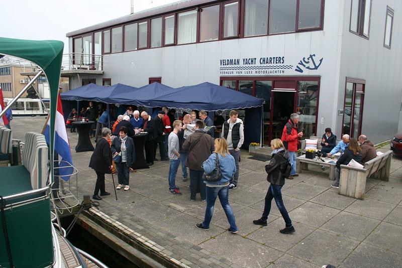 Veldman Yacht Charters en Zijda Yachting houden 26 en 27 maart 2016 open huis.