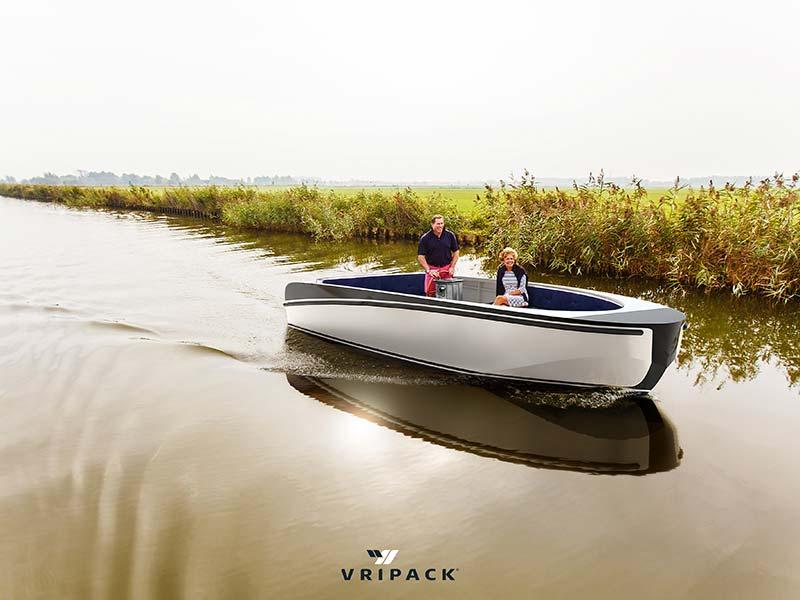 De Mienskip 22, te zien bij De Stille Boot, It Butlân 9 in Heeg (Friesland).