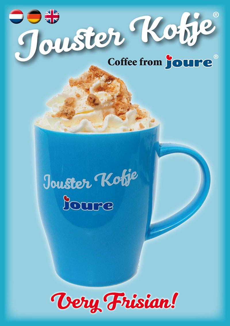 Jouster Kofje, Coffee from Joure.