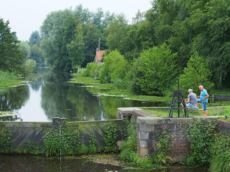 Provinciaal Park Rottige Meente in de gemeente Weststellingwerf.